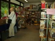 Bücher-Flohmarkt in Engelskirchen, August 2009