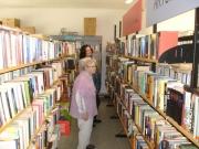 Bücher-Flohmarkt in Engelskirchen, Juni 2014