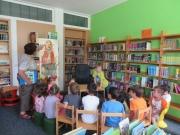 Kinderlesung in Engelskirchen, Juni 2014