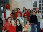 Nikolausfeier in Ründeroth, Dezember 2004