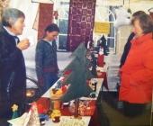 Stand auf dem Martinsmarkt, November 2004