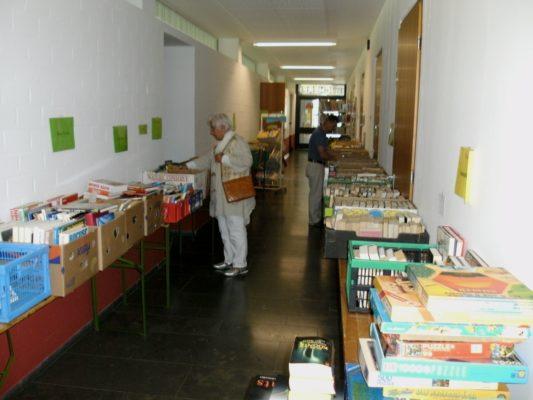 Endlich wieder ein großer Bücherflohmarkt